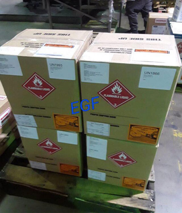 DANGEROUS GOODS BY AIR AT EAGLES GLOBAL FORWARDING CORP.